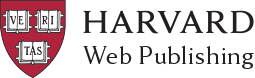 Harvard Web Publishing