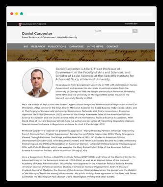 Get a free Harvard website - OpenScholar
